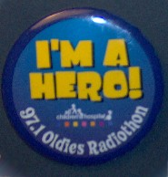 WSUN Radiothon Button